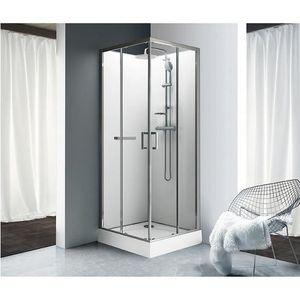 cabine de douche carree 90 x 90 achat vente pas cher. Black Bedroom Furniture Sets. Home Design Ideas