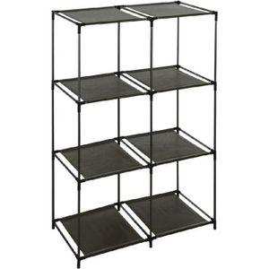 etagere 8 cases achat vente etagere 8 cases pas cher. Black Bedroom Furniture Sets. Home Design Ideas