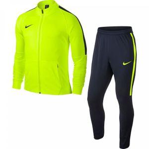 SURVÊTEMENT Survêtement Nike Squad 17 knit jaune fluo marine 7a8d8e85ee8c