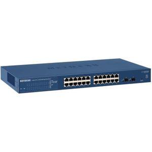 SWITCH - HUB ETHERNET  NETGEAR Smart Switch 24 Ports GS724T-400EUS