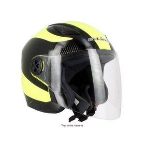 Casque jet lunette achat vente casque jet lunette pas for Accessoire deco jaune