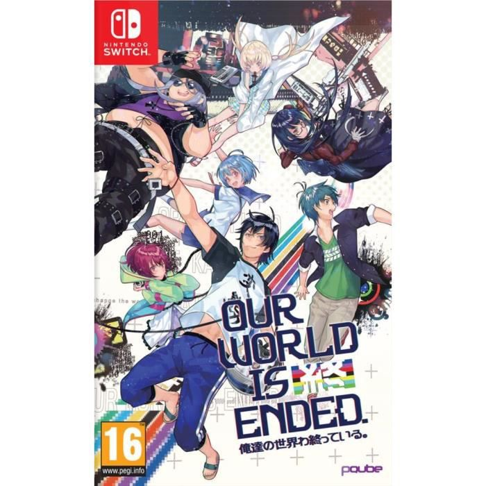 JEU NINTENDO SWITCH Our World is Ended - Day One Edition Jeu Switch