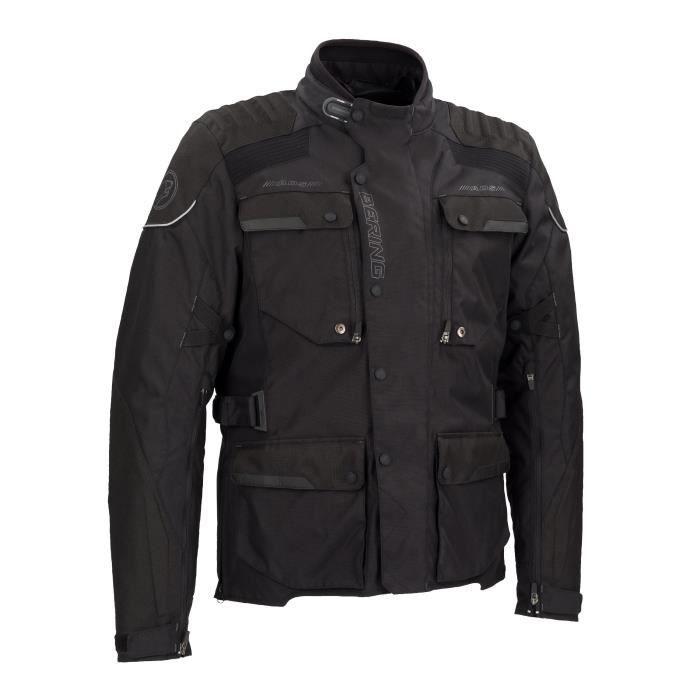 BERING Veste de moto Rubicon - Noir