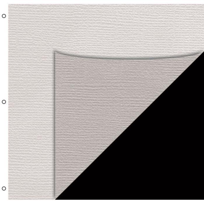 TOGA 10 Pages Album Réglisse/Pergamines - 33x30 cm