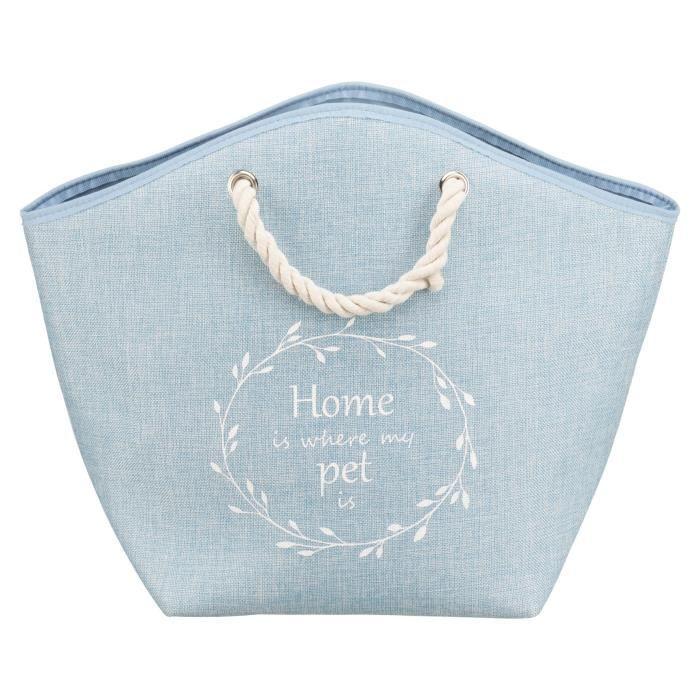 TRIXIE Coin douillet Emma - 52x39x25cm - Bleu - Pour chat