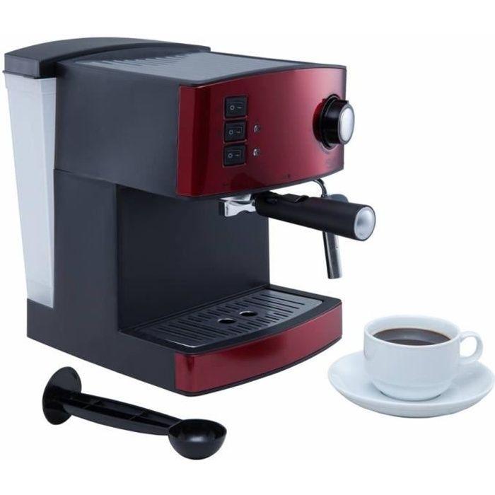 Retro Espresso machine - machine à piston rouge - Achat / Vente ...