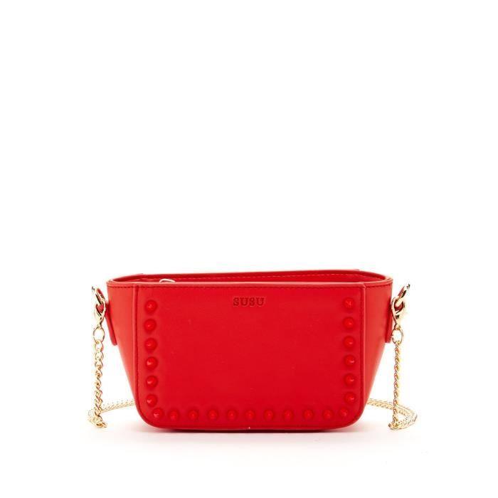 Le Paisley Petit sac à bandoulière en cuir bourse Y63IB