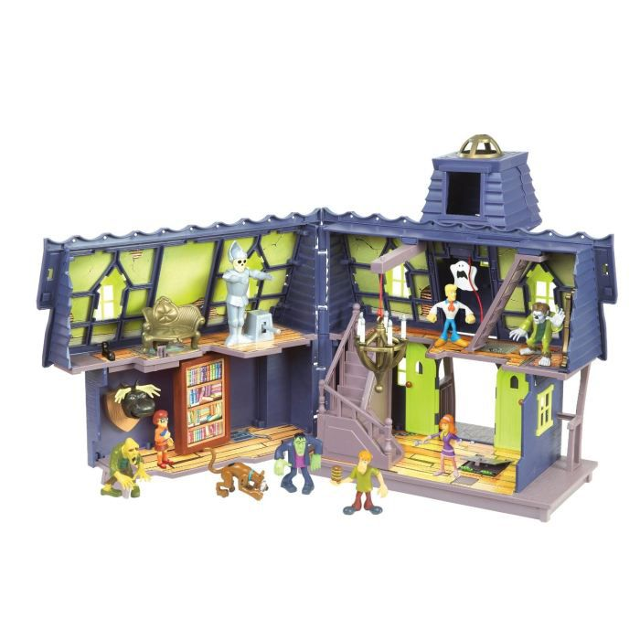Scooby doo manoir myst rieux avec 2 figurines achat - Personnage scooby doo ...