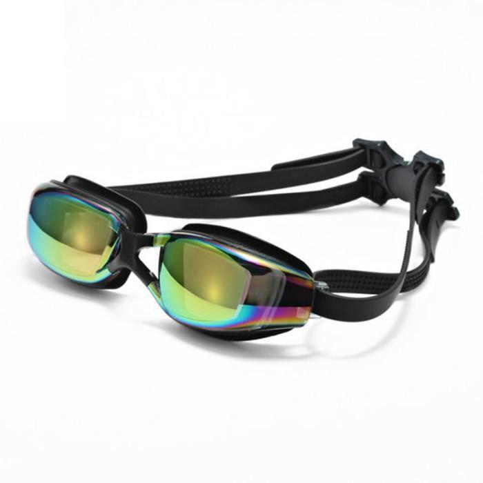 myopie Adulte anti-buée des lunettes de natation lunettes de lunettes de  course étanches de lunettes en verre clair aca499e80cc5