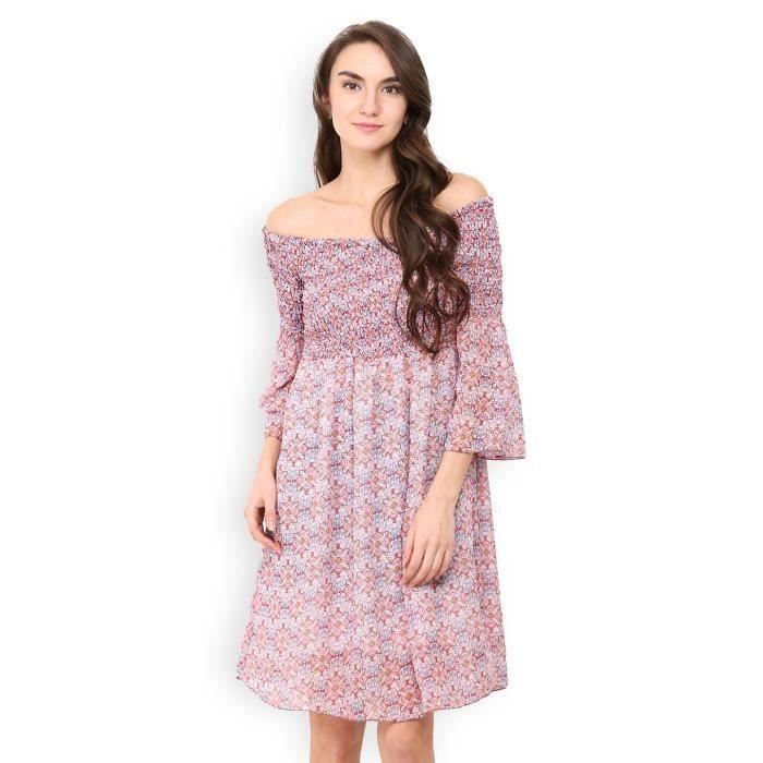 Arabesque Off robe de lépaule de la femme X04NL Taille-32