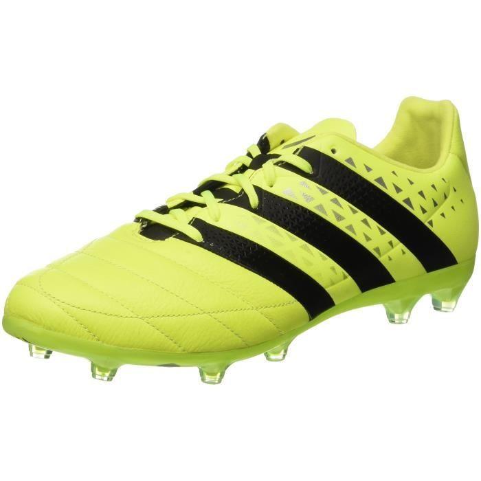 Pour Taille Ace 16 Homme 3pzc24 39 2 Football Fg Cuir Adidas Bottes En De H2EI9D