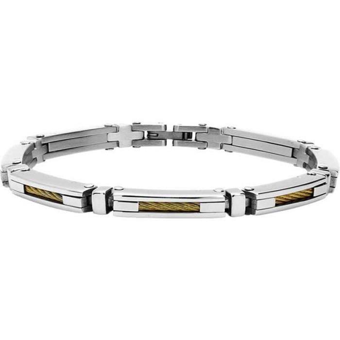 B062387 Cabestan Acier 20cm Rochet Et Cable Modèle Bracelet Homme m0nwvO8yN