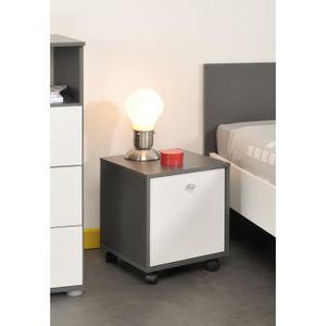 chevet enfant achat vente chevet enfant pas cher cdiscount. Black Bedroom Furniture Sets. Home Design Ideas