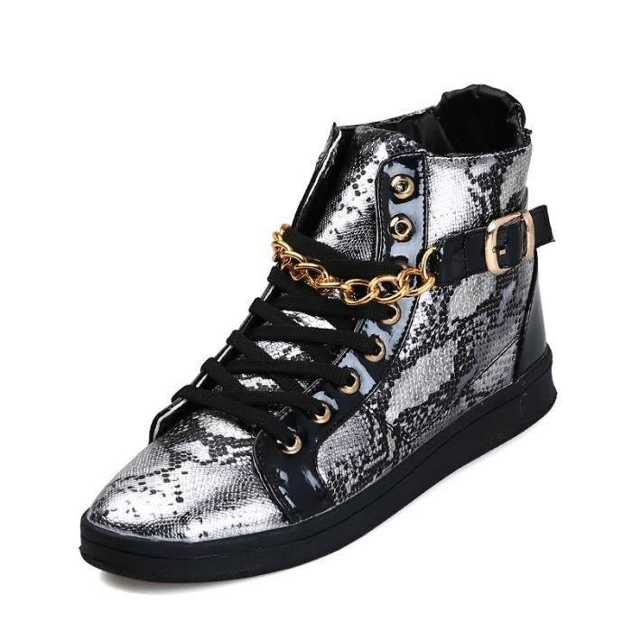 Botte Homme LoisirsVintage Joker Superstar styleargent taille42 5DCTbc4SY
