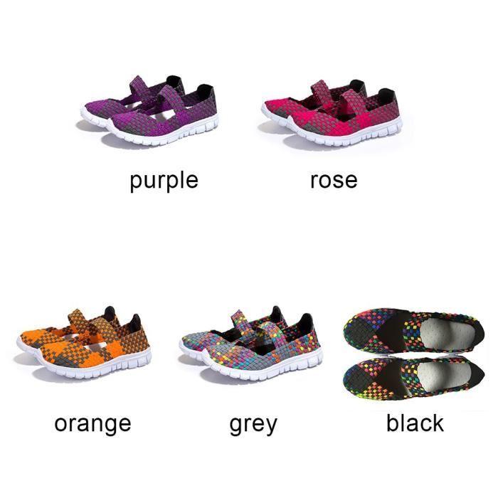 XZ658E6XZ658E6Femme Filles Chaussures de sport Mocassins Respirant Chaussures de course JgIzbp5D9