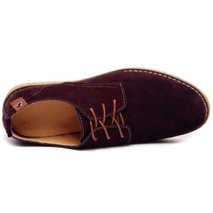 Bruno Marc Downing-02 Robe en cuir doublé Oxfords Chaussures OA5US Taille-49 1-2 xXUYfTG