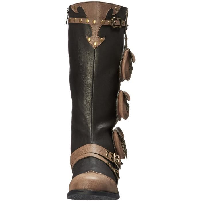 Ellie Shoes 181-silas Combat Boot C32AO Taille-41