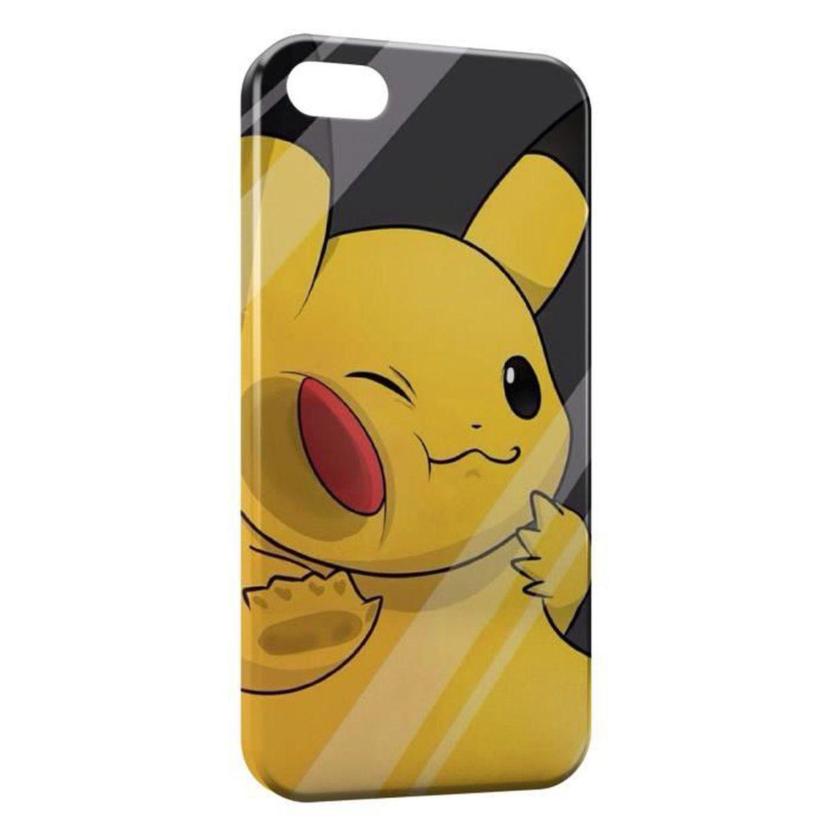 coque iphone se pikachu pokemon 3 achat coque bumper pas cher avis et meilleur prix. Black Bedroom Furniture Sets. Home Design Ideas