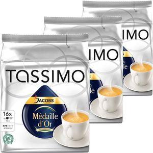 CAFÉ CD-639Tassimo Jacobs Medaille d'Or, le café, capsu
