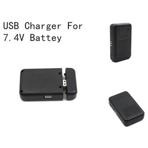 DRONE Battery USB Balance Charger 2IN1 Spare Part For 7.
