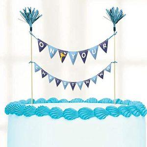 Figurine décor gâteau Amscan 9901961 23 x 24 cm Le jour de gâteau de bap