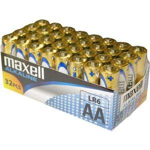 PILES MAXELL - Piles LR06 AA Pack de 32 - 790261