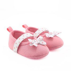 Frankmall®Bébé enfant chéri douce princesse filles berceau chaussures semelle douce sandale KAKI#WQQ0926310 p2L9dyWM