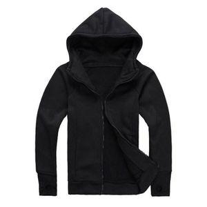 SWEATSHIRT Veste Manteau Sweat-shirt à Capuche Homme Zipper H 04e83d33e08d