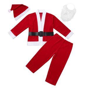 04c4079394424 DÉGUISEMENT - PANOPLIE Costumes Père Noël Enfant Déguisement Père Noël Bo