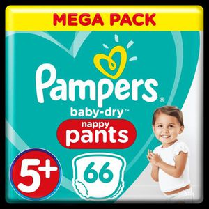 COUCHE Pampers Baby-Dry Pants T5+, x66