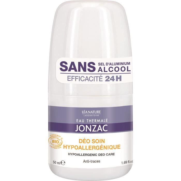 EAU THERMALE JONZAC Déodorant - Soin hypoallergénique - 50 ml