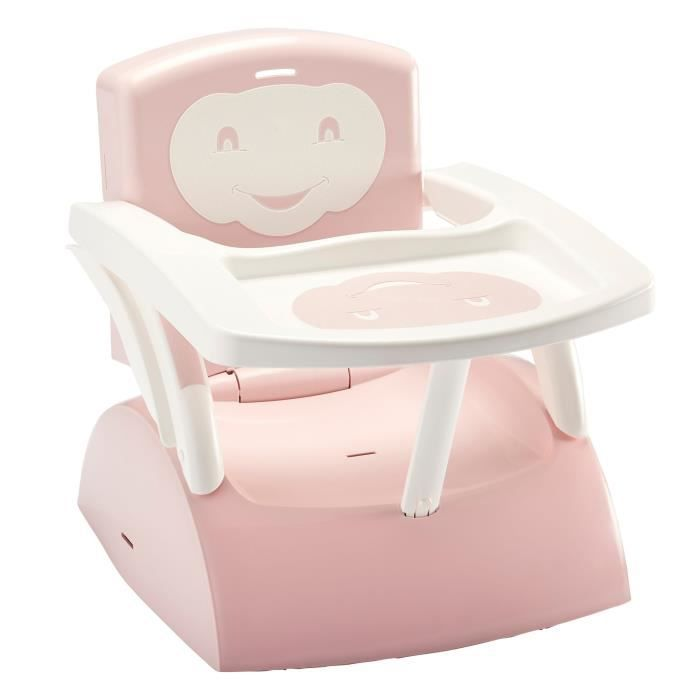 THERMOBABY Rehausseur de chaise - Rose poudré