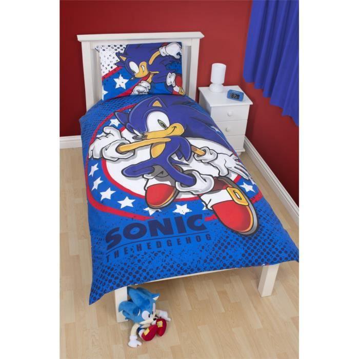 linge de lit herisson Parure de lit Sonic le hérisson   Achat / Vente parure de couette  linge de lit herisson