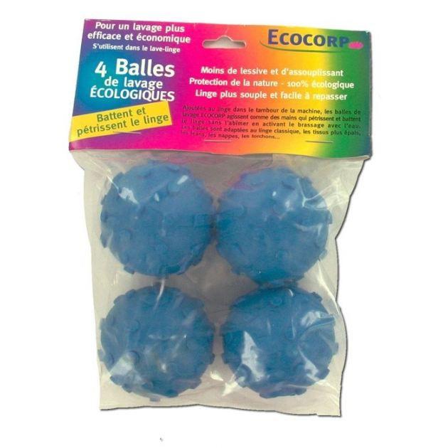4 Balles-battoirs de lavage écologiques