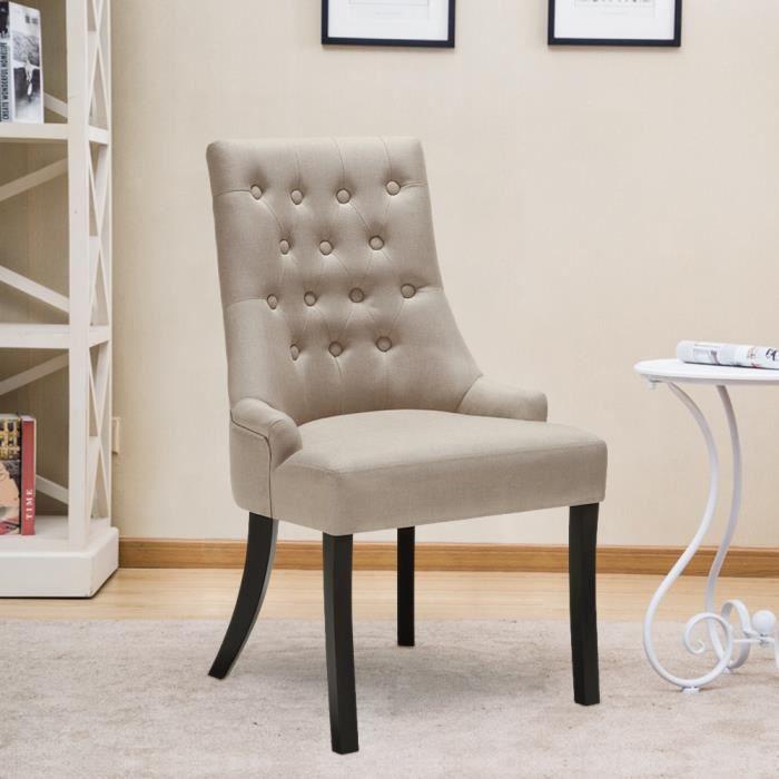 Ikayaa chaise de cuisine salle manger h tel fauteuil - Chaises fauteuil salle a manger ...
