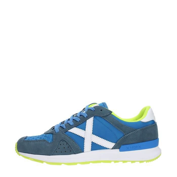 MUNICH Sneakers Homme AZUL/LIMA, 43
