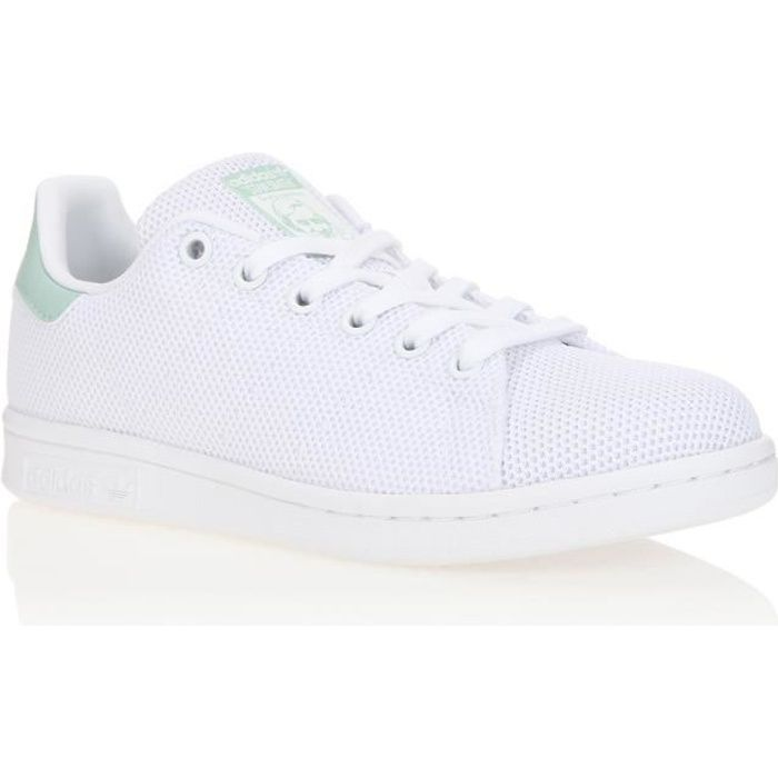 f89b93f4550cf Basket adidas Originals Stan Smith - CQ2822 Blanc Blanc - Achat ...