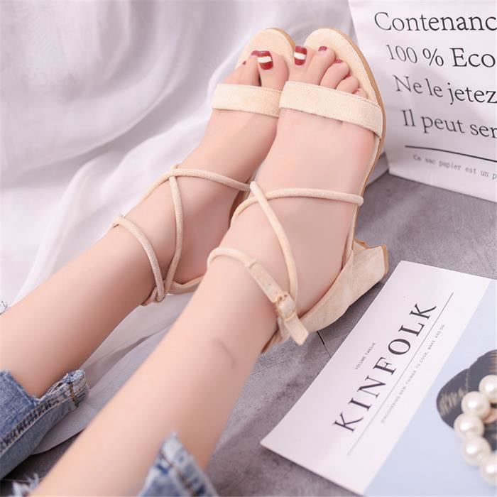 2018 34 40 Antidérapant Respirant Sandales Femme Chaussures Classique T1uFJlKc3