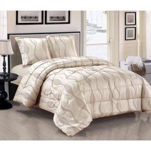 jete de lit matelasse gris achat vente jete de lit matelasse gris pas cher cdiscount. Black Bedroom Furniture Sets. Home Design Ideas