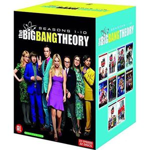 DVD SÉRIE BIG BANG THEORY S1-10 /V 32DVD