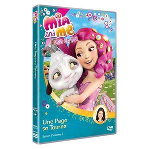 DVD DESSIN ANIMÉ DVD Mia and me : une page se tourne, saison 1, vol