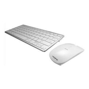 PACK CLAVIER - SOURIS Clavier et souris sans fil Blanc - Pack de 2 produ