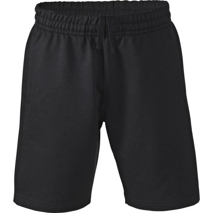 SOFTWR Short Uni Non Gratte - Homme - Noir
