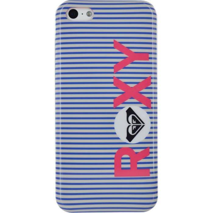 QUIKSILVER Coque Roxy pour Iphone 4 et 4S - Rayé bleu