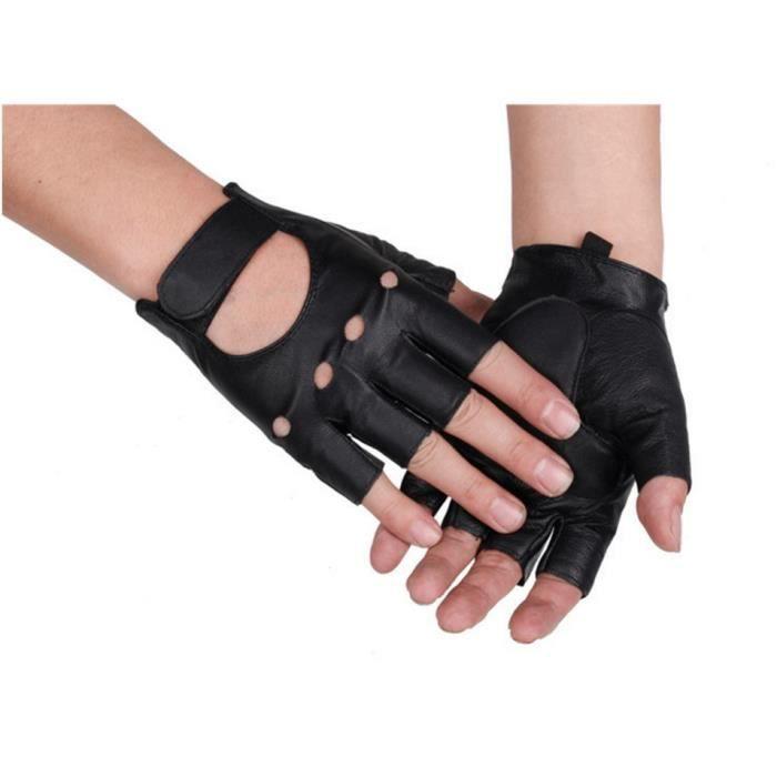 Baseball en cuir des gants demi doigt slip mat des hommes xl prix pas cher cdiscount - Signification des bagues aux doigts homme ...