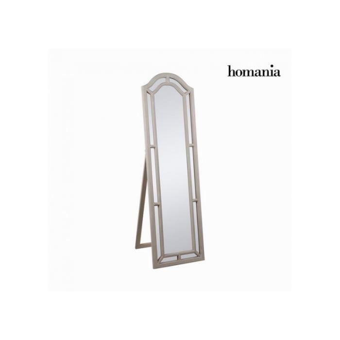Miroir psyche sur pied en bois blanc ART Déco - Achat / Vente ...