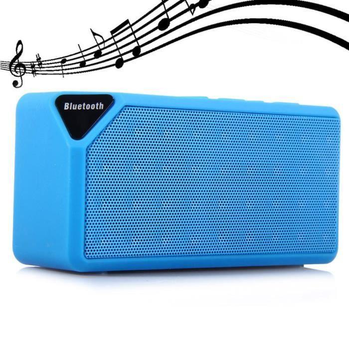 Bluetooth Parleur Sans Fil Mini Portable Des Enceintes Pour Téléphone Portatif Et Tf Card