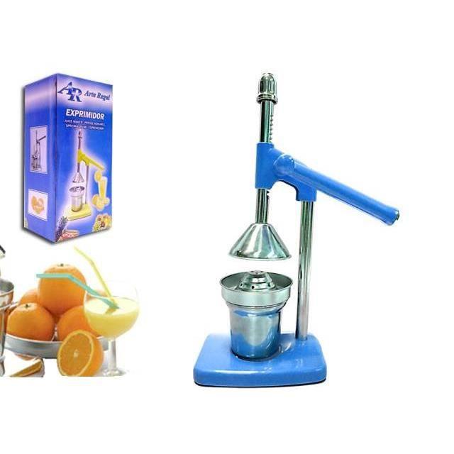 Presse fruits et agrumes bleu levier achat vente - Presse agrume manuel a levier ...