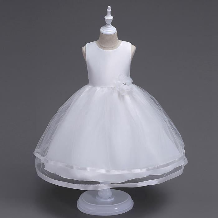 Sexy Robe de soirée Fille 2017 Cocktail Jupe robe de marriage Baptême Cérémonie Pour enfantes