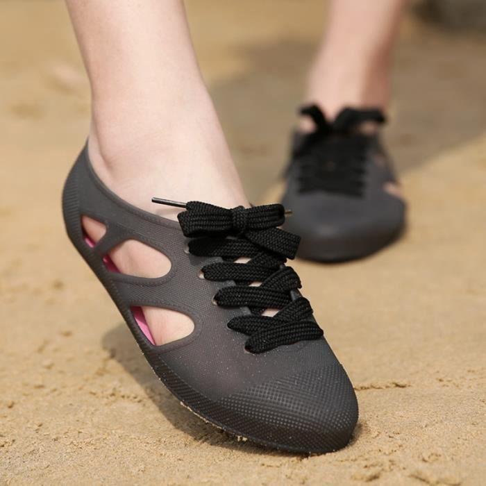 British étudiant Roundstyle Casual Chaussures Sandales Toe femmes